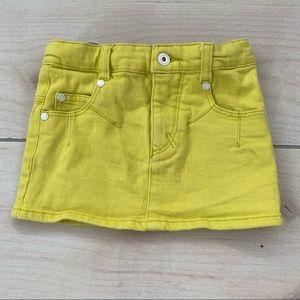 Imps & Elfs yellow Denim Skirt 104 4